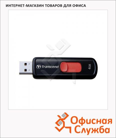 ����-���������� Transcend JetFlash 500 4Gb, 14/4 ��/�, �����-�������