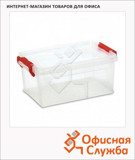 Бокс для хранения Floortex 17.8х42.7х28.9см, прозрачный, 14л