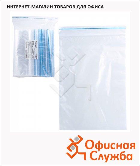 Пакеты с замком Zip Lock гриппер 12х17см, 35мкм, 100 шт/уп