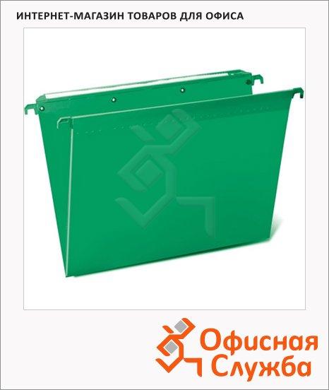 Папка подвесная стандартная А4 Brauberg зеленая, 5 шт/уп