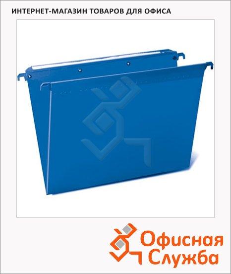 фото: Папка подвесная стандартная А4 Brauberg синяя 5 шт/уп