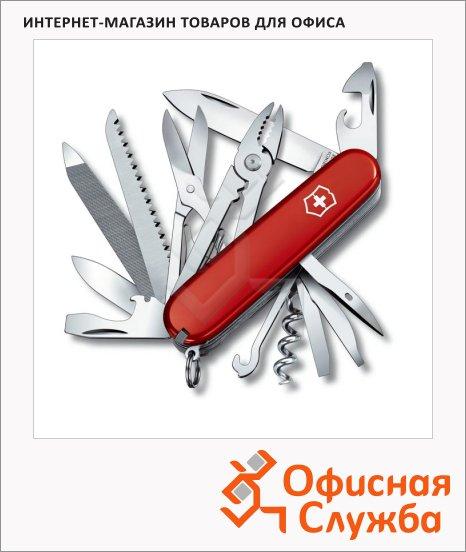 фото: Нож офицерский 91мм Victorinox Handyman 1.3773 24 функции, 6 уровней, красный