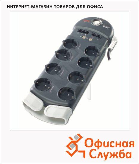 Сетевой фильтр Apc PF8VNT3-RS 8 розеток, 3м, черный