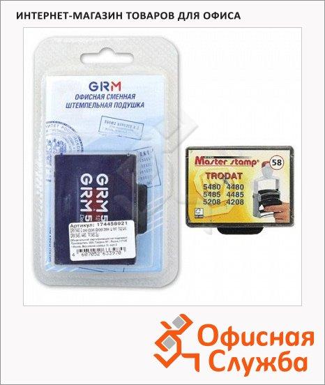 фото: Сменная подушка прямоугольная Grm для Trodat 5485/5480 синяя-красная, 2 шт/уп