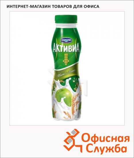 фото: Йогурт питьевой Активиа злаки-яблоко 290г