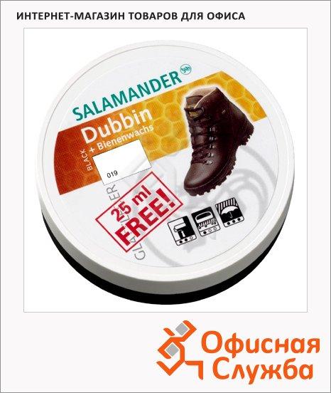 Крем-воск для обуви Salamander Dubbin для гладкой кожи, черный