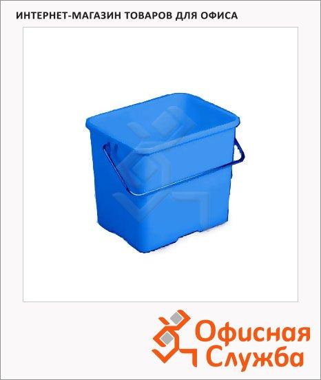 Ведро Vileda Pro 6л, прямоугольное, голубое, 500430