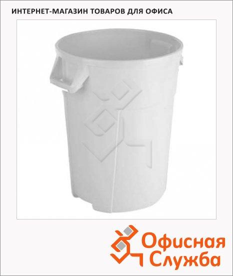 Бак для мусора Vileda Pro Титан 120л, белый, 137788