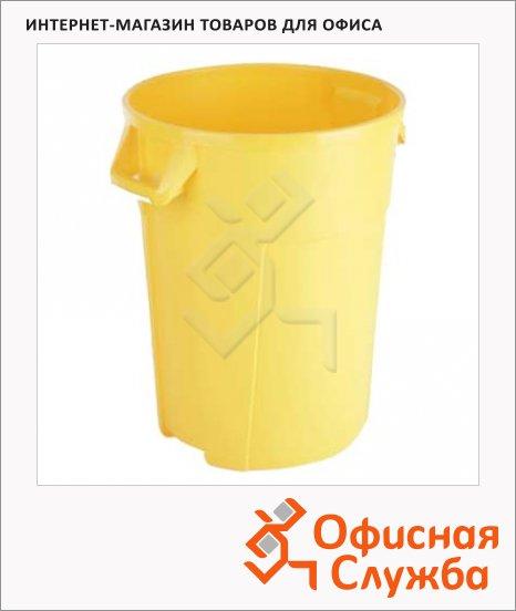 фото: Бак для мусора Титан желтый 137718