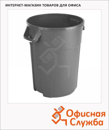 Бак для мусора Vileda Pro Титан 120л, серый, 137785