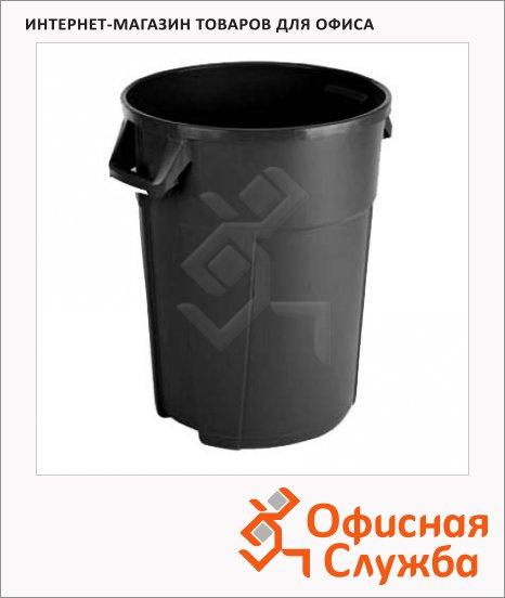 Бак для мусора Vileda Pro Титан 120л, черный, 137783