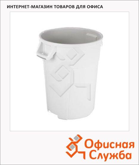 фото: Бак для мусора Vileda Pro Титан 85л белый, 137776
