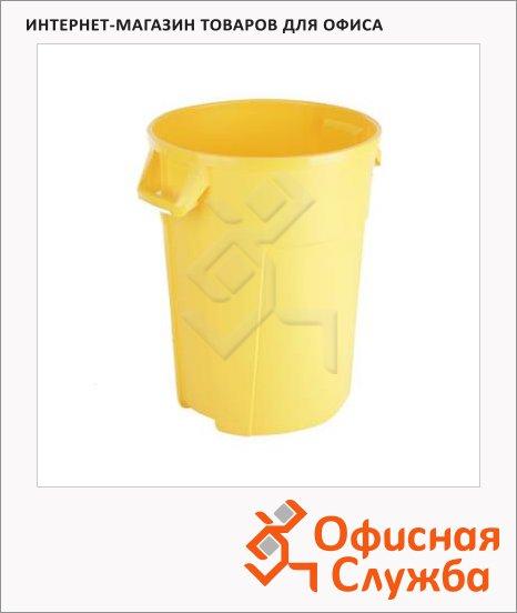 Бак для мусора Vileda Professional Титан желтый, 137706