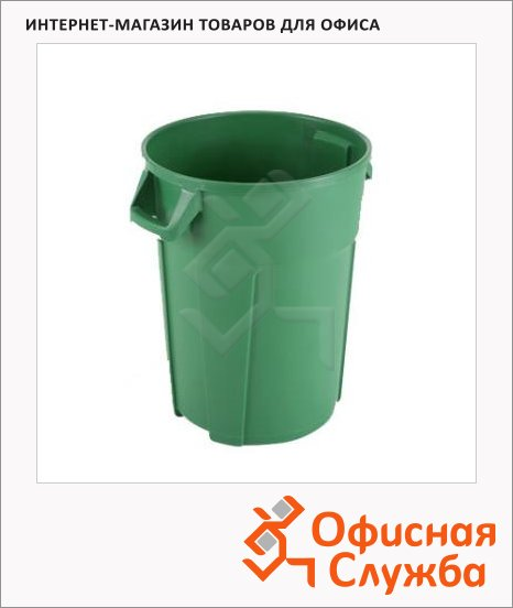 фото: Бак для мусора Титан зеленый 137772
