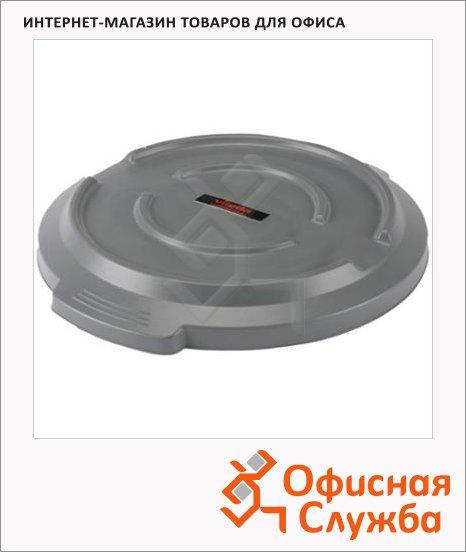 Крышка для контейнера Vileda Pro Титан 85л, серая, 137779