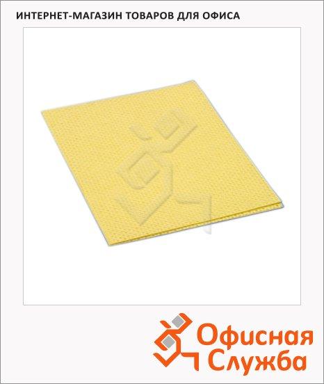 фото: Салфетка хозяйственная Vileda Pro универсальная 38х40см желтая, 101032