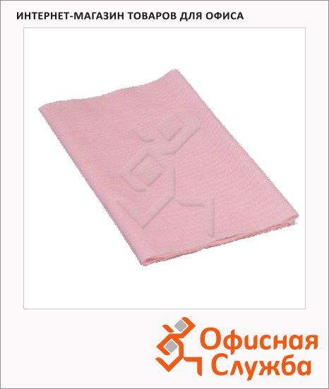 фото: Салфетка хозяйственная Стандарт 24х60см, хлопок-целлюлоза, розовый