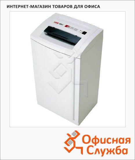 Офисный шредер Hsm 125.2-3.9, 24 листа, 76 литров, 2 уровень секретности