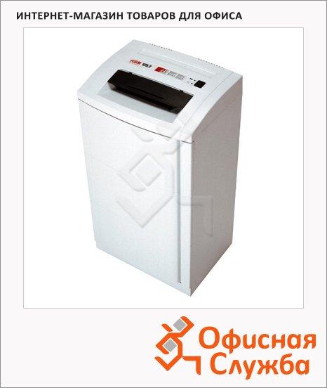 Офисный шредер Hsm 125.2-5.8, 30 листов, 76 литров, 2 уровень секретности