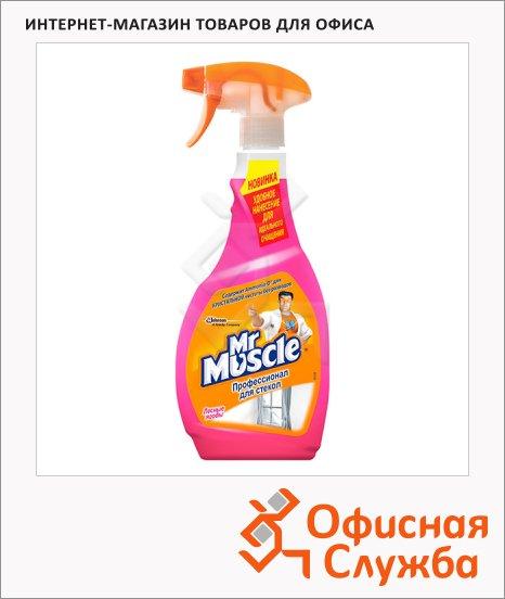Чистящее средство Мистер Мускул Эконом 500мл, с нашатырным спиртом, спрей, розовый