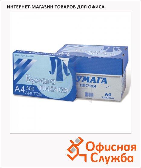 Бумага писчая Туринск А4, 65г/м2, белизна 92%, 500 листов