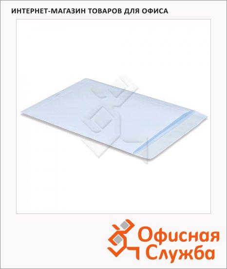 Пакет почтовый бумажный плоский Pigna B4 белый, 250х353мм, 100г/м2, 1шт, стрип