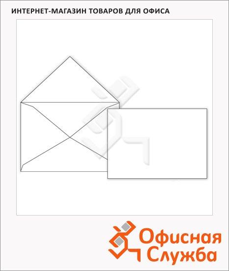 Конверт почтовый Родион Принт С4 белый, 229х324мм, 100г/м2, 500шт, без клеевого слоя