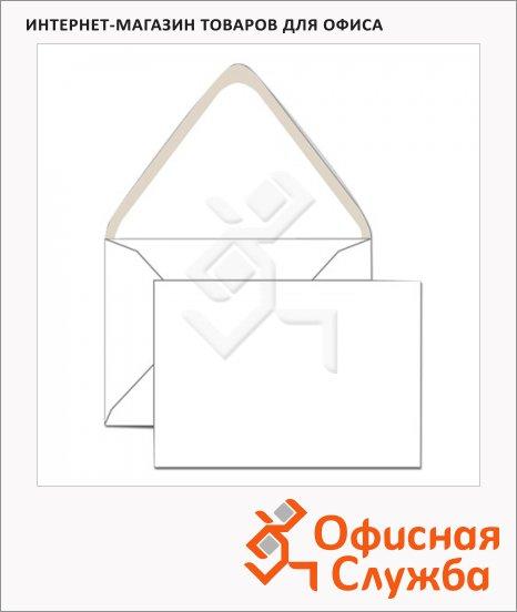 фото: Конверт почтовый С6 белый 114х162мм, 80г/м2, декстрин, 1000шт