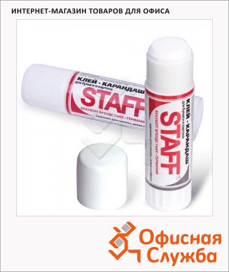 Клей-карандаш Staff 15г, нетоксичный