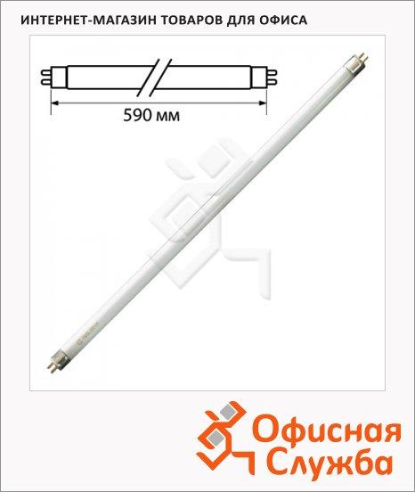 фото: Лампа люминесцентная Osram Basic L 18Вт G13, трубка, 6500К, дневной белый свет