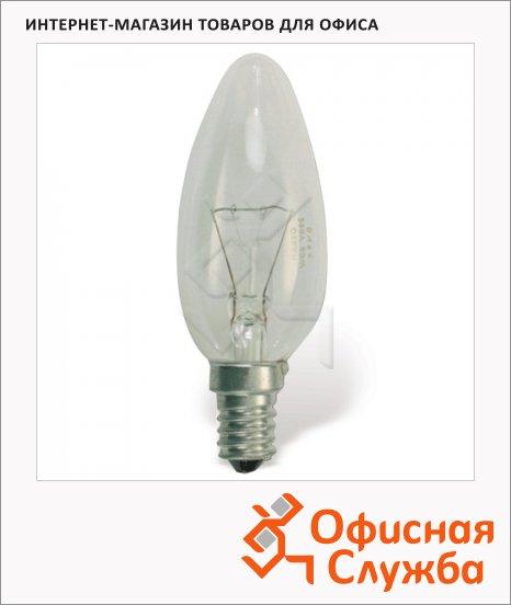 Лампа накаливания Osram 60Вт, E14, свеча прозрачная