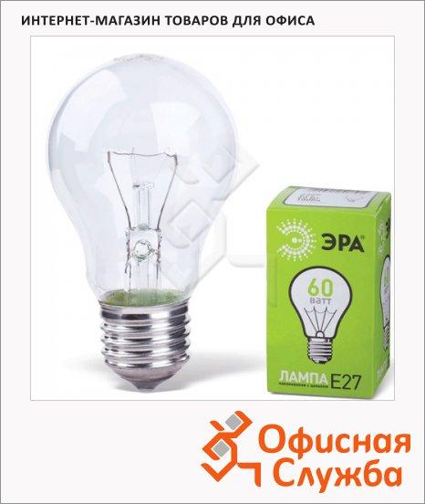 Лампа накаливания Эра 60Вт, Е27