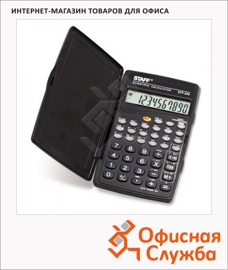 фото: Калькулятор инженерный Staff STF-245 черный 10 разрядов