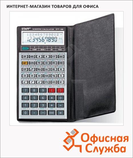 Калькулятор инженерный Staff STF-169 серебристый, 10+2 разрядов