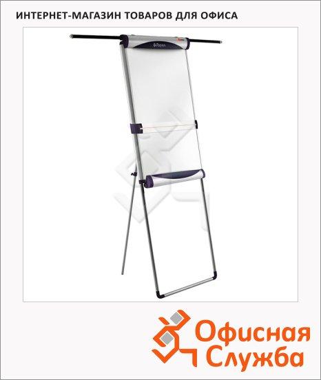 Флипчарт магнитный маркерный Nobo Piranha Mobile 70х100см, белый, мобильный