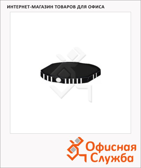 Сменная подушка круглая Shiny для ShinyR542/R-542D, R542-7, черная