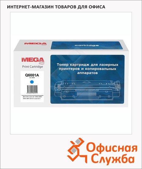 Тонер-картридж Mega Q6001A, голубой