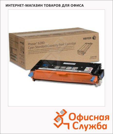 Тонер-картридж Xerox 106R01400, голубой повышенной емкости