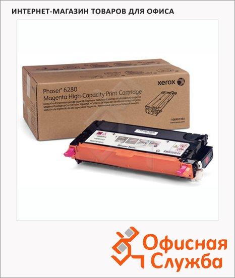 Тонер-картридж Xerox 106R01401, пурпурный повышенной емкости