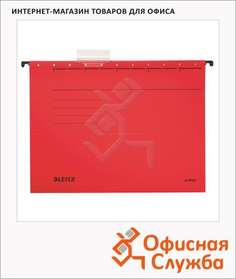 Папка подвесная стандартная А4 Leitz Alpha красная, 19840025