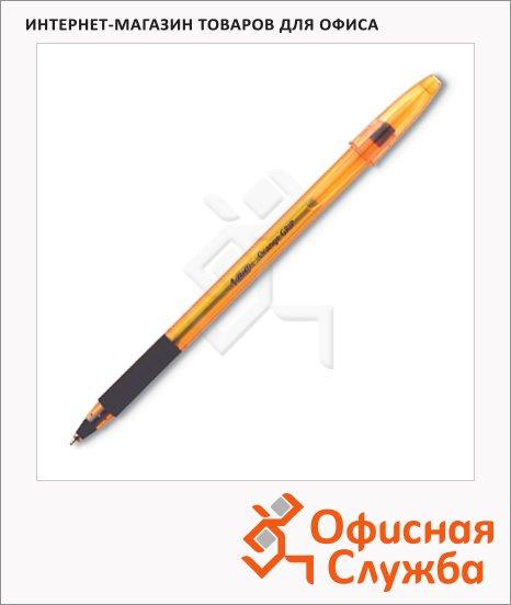 Ручка шариковая Bic Orange Grip Fine черная, 0.35мм