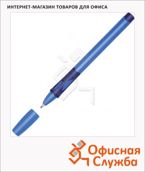 фото: Ручка шариковая Stabilo LeftRight 6328 синяя 0.3мм, синий корпус