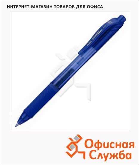 фото: Ручка гелевая автоматическая Pentel EnerGel BL107 синяя 0.35мм