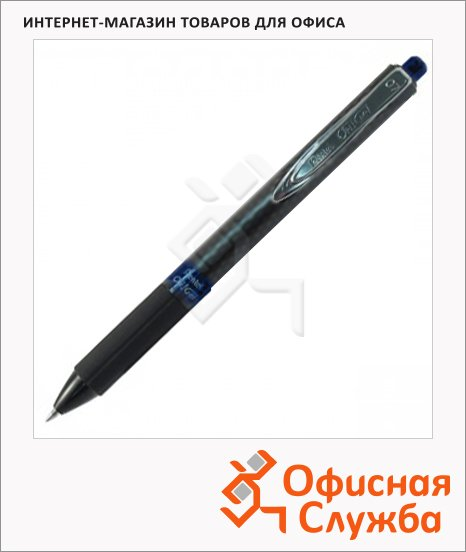 фото: Ручка гелевая автоматическая Pentel OhGel K497 черная 0.3мм