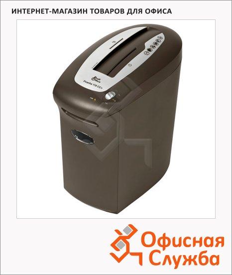 Персональный шредер Profioffice Piranha 110СС+, 10 листов, 12 литров, 3 уровень секретности