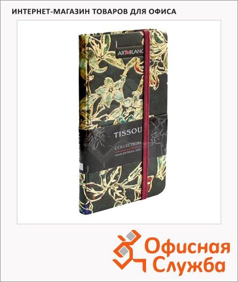 Блокнот Art-Blanc Study Tissou, А7, 96 листов, в клетку, на сшивке, картон, с резинкой
