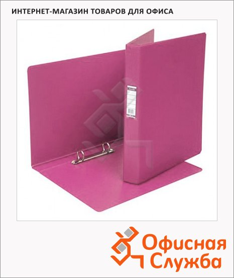 фото: Папка на 2-х кольцах А4 Bantex розовая 35 мм, 1300-19