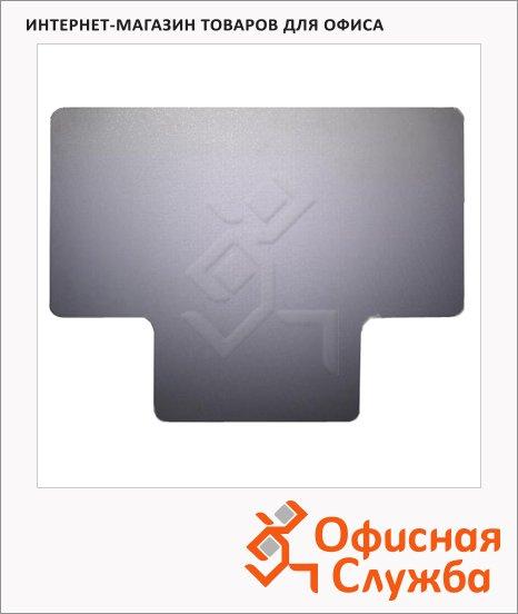 Коврик под кресло Clear Style Т-образный 920х1210мм, 2мм, для гладкой поверхности, 1603