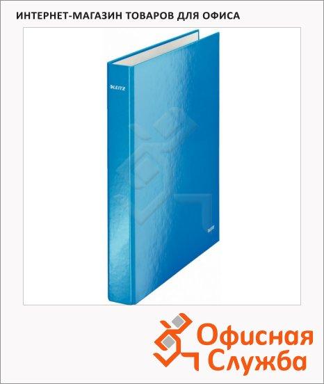 Папка-панорама на 2-х кольцах A4 Maxi Leitz Wow синяя, 40 мм, 42410036