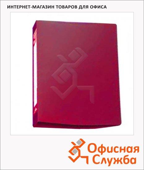 Скоросшиватель пружинный Бюрократ красный, А4, PZ05PRED